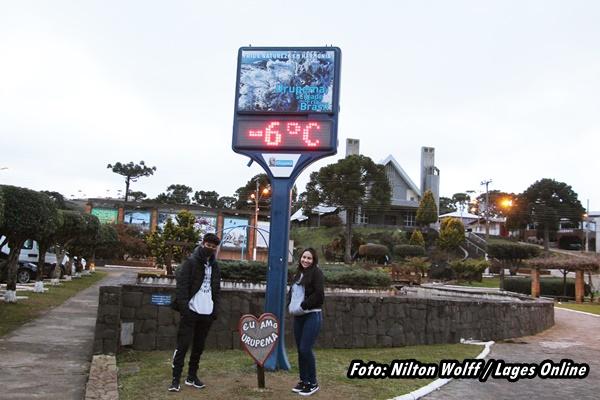 Galeria 1 - Notícia Lages Turismo Frio na Serra Catariense
