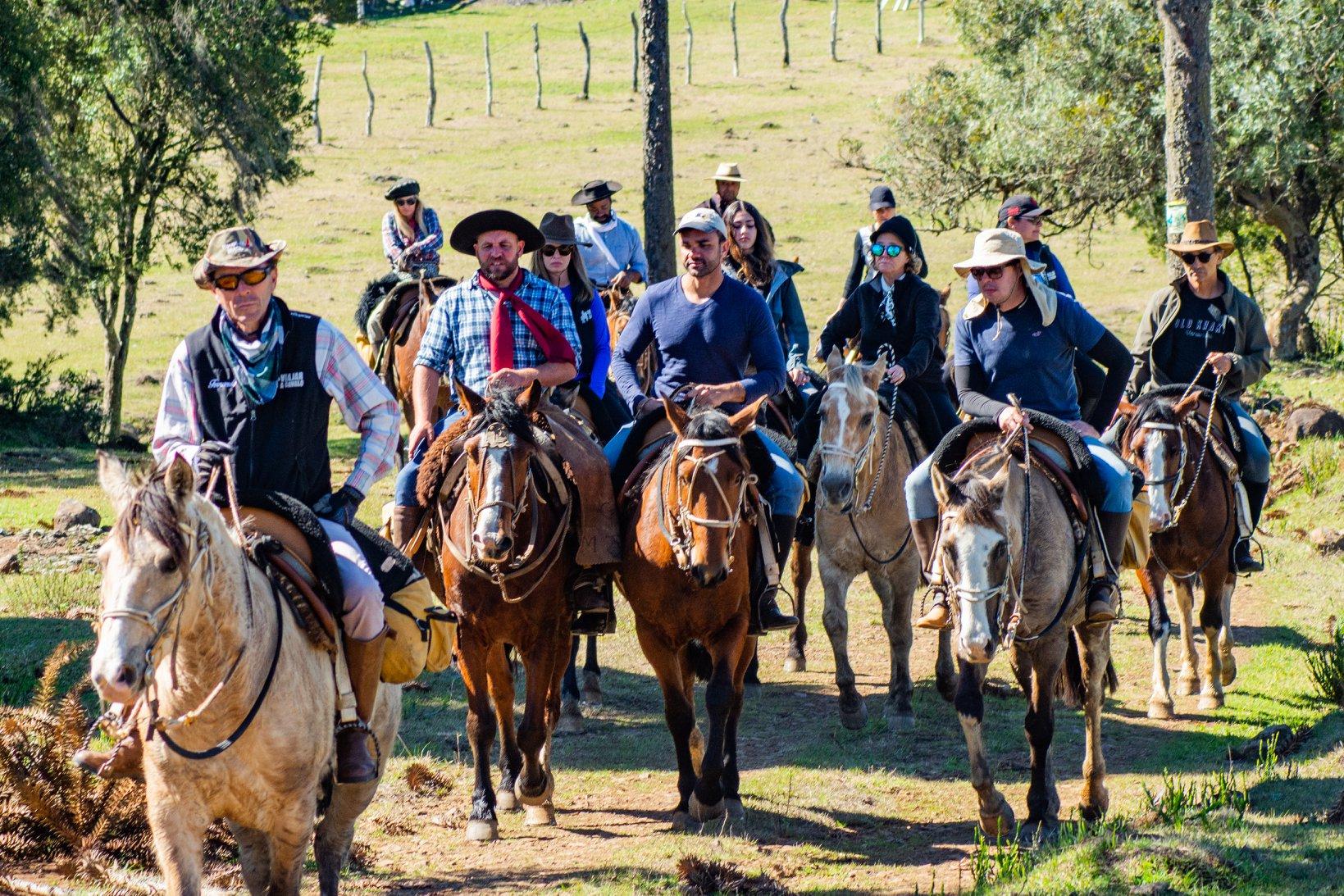 3° Cavalgada do Corredor Coxilha Rica   Lages Turismo