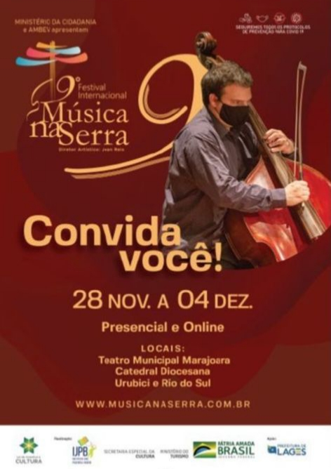 9º Festival Internacional Música na Serra