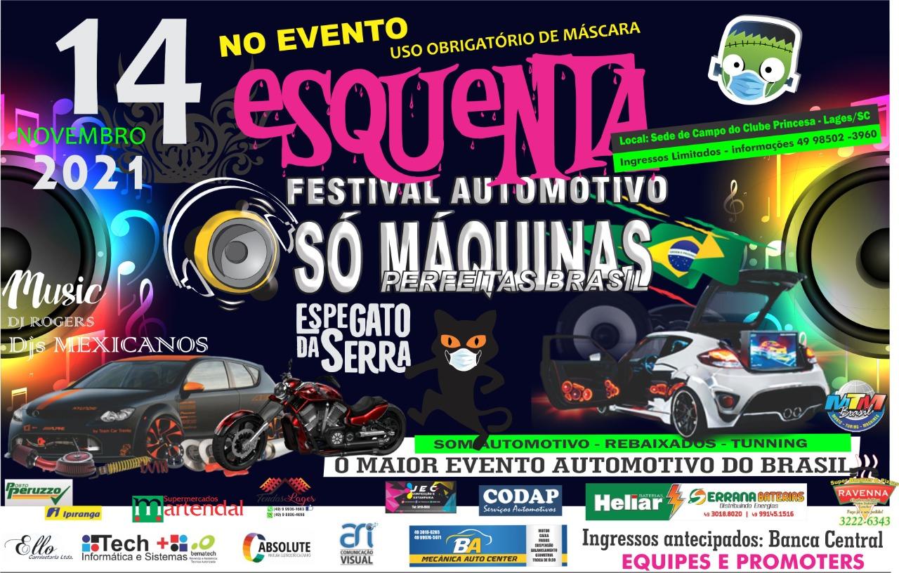 Esquenta Festival Automotivo Só Máquinas