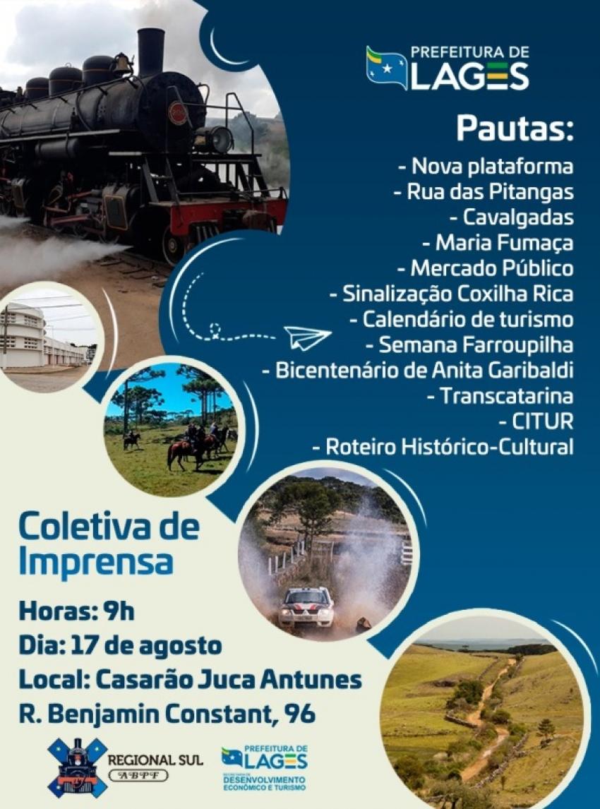 Reunião com Prefeito e  ABPF sobre a Maria Fumaça  Turismo apresenta nova plataforma e programação -    16/08/2021 18:46:32