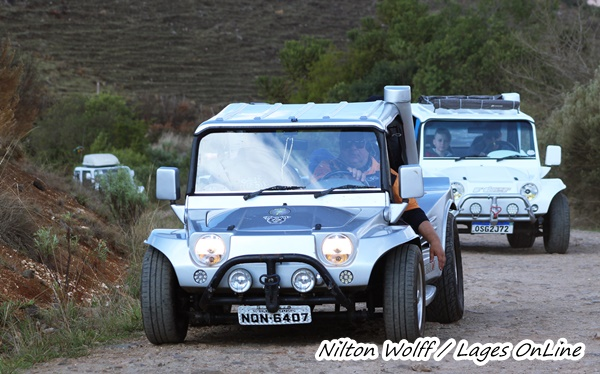 Buggys invadem Lages e a Coxilha Rica  Turismo: Lages recebe expedição de Buggys -  Evento fomenta o turismo na cidade durante o feriadão  08/09/2021 14:19:07