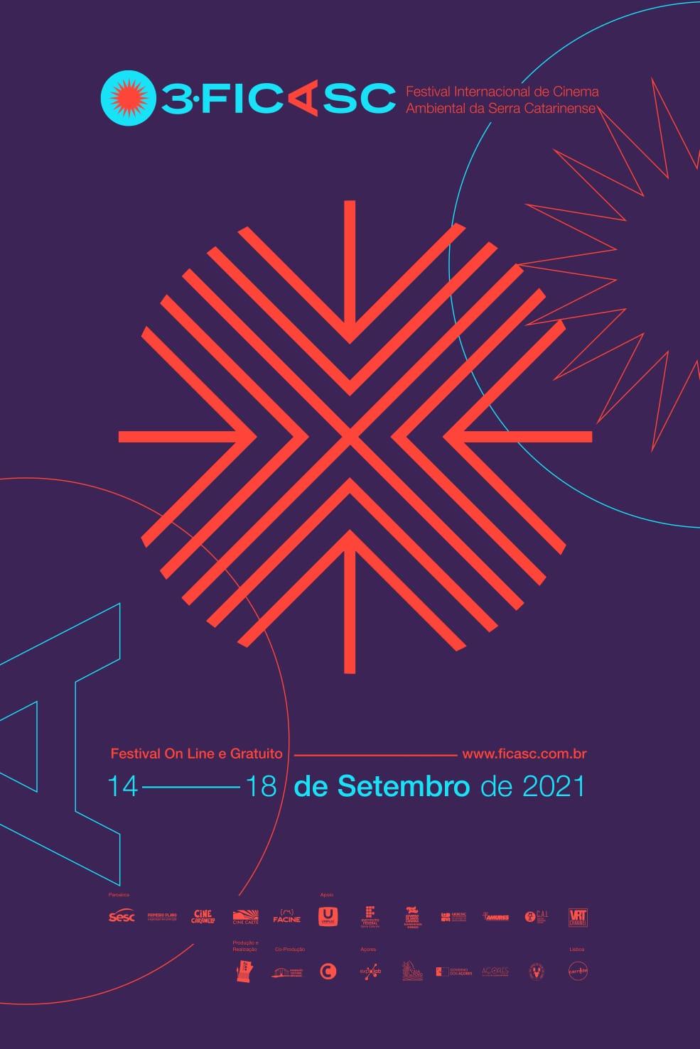 Festival Internacional de Cinema  Casarão Juca Antunes recebe Festival Internacional de Cinema Ambiental da Serra Catarinense  -  O Festival Internacional de Cinema Ambiental da Serra Catarinense (FICASC) chega a sua 3ª edição inovando em seu formato de exibição. Esse ano, o festival acontecerá de maneira híbrida (online e presencial) de 14 a 18 de setembro  13/09/2021 17:01:19