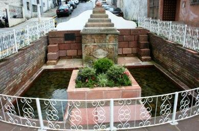 Praça Siqueira Campos Cacimba da Santa Cruz  - Monumento Histórico e Cultural de Lages.